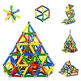 206PCS Magnetic Sticks Magnetic Building Block Construction...