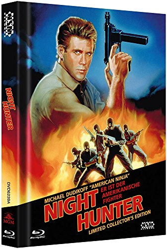 Bild von Night Hunter - Avenging Force - uncut (Blu-Ray+DVD) auf 666 limitiertes Mediabook Cover A [Limited Collector's Edition]