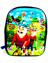 CoolGenX Motu Patlu School Bag With 3D Effect Suitable Upto 1-6 Years Kids - Fabric Color May Vary