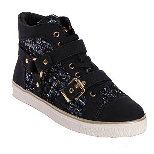 Gaudi V54 64342 Sneakers Donna Nero 39