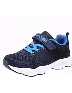 Unisex-niños Zapatillas de Running Zapatos Para Correr Niños Niñas Zapatilla de Deporte de Moda