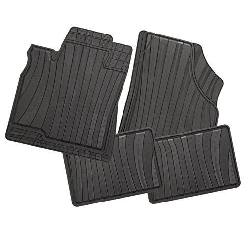 Preisvergleich Produktbild CarFashion 234223 LeMans Auto Fußmatte Allwetter, Schwarz, 4