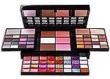 Pure Vie® 74 Colores Sombra De Ojos Corrector Rubor y Brillo de Labios Paleta de Maquillaje Cosmética - Perfecto para Sso Profesional y Diario