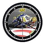 Orologio da parete in plastica Valentino Rossi 1