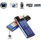 Briquet camera espion appareil photo enregistrement sonore USB