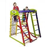 Centre d'activités pour enfants Akvarelka-1' Cage à grimper, Espalier suédois, Toboggan, Echelle de corde