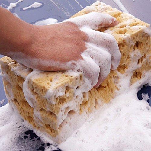 uto waschen Schwamm Polyester Schwamm für Waschen und Reinigen (Küche Tong Set)