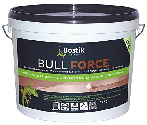 Bostik Bull Force PVC-CV Belag Dispersionsklebstoff 13.0kg Eimer