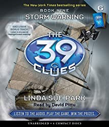Storm Warning (The 39 Clues, Book 9) - Audio by Linda Sue Park (2010-05-25)