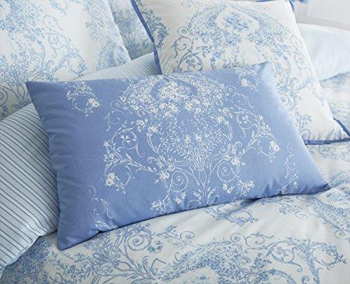 Toile Betten Reihe in blau, Boudoir Cushion