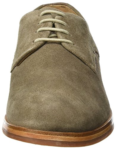 Hudson London Herren Enrico Suede 40 Oxfords Braun (Taupe)