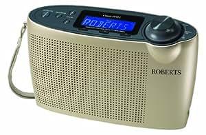 Roberts Classic DAB2 DAB/DAB+/FM Digital Radio with Simple Presets - Champagne
