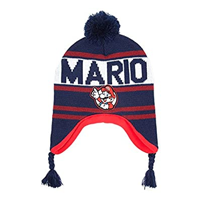 Nintendo Super Mario Cle Ski Chapeau