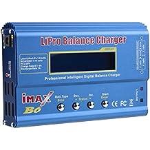 HOSdog IMax B6 Digital LCD 2S-6S RC Lipo NiMh Li-ion LiFe Cargador del Balance de Batería Nicd (Azul)