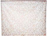 ECO-DuR,4024879003692,Ersatzvorhang Kassetten Duschrollo Seitenzug 134cm - Flower terra