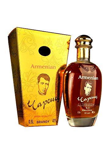 Armenischer Brandy Charents, 10 Jahre gereift, 0,5L