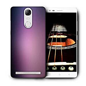 Snoogg Lite Purple Pattern Design Printed Protective Phone Back Case Cover For Lenovo K5 Note