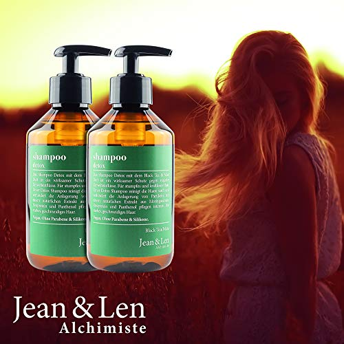 Zoom IMG-1 jean len shampoo black tea
