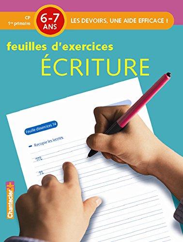 Ecriture 6-7ans CP : Feuilles d'exercices