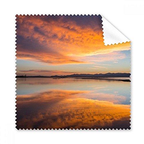 Sunrise Ocean Sky Cloud Reflection Gläser Tuch Reinigungstuch Geschenk Handy-Display von 5x