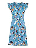 Yumi Curves Ladder Front Floral Day Dress