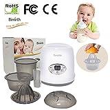Per 3-In-1 Brust-Milch-Wärmer-Baby-fesselnde Flaschen-Wärmer u. Dampf-Sterilisator mit geführter Anzeige