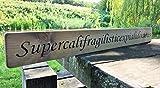 Letitia48Maud superkalifragilistischexpiallegetisch Schild Mary Poppins Shabby Chic Vintage Große Holz Hand Bedruckt Schild Geschenk Küche Wohnzimmer Decor Holzschild Aufkleber