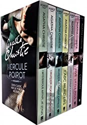 Agatha Christie Hercule Poirot Classic Mysteries 6 Books Collection Box Set (Hickory Dickory Duck, Sad Cypres, Death in the Clouds, The Clocks, The Mystery of the Blue Train, The Murder on the Lin) (Hercule Poirot) by Agatha Christie (January 19,2015)