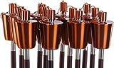 Fackel Gartenfackel 022 Ölfackel Edelstahl Kupfer 110 cm