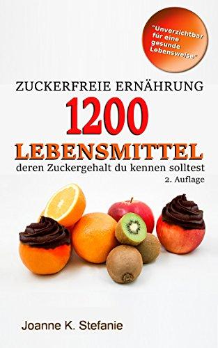 Zuckerfreie Ernährung - 1200 Lebensmittel deren Zuckergehalt du kennen solltest: Die Liste - Diabetiker-handy-fällen