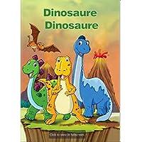 """Idée cadeau Livre enfants personnalisé """"Dinosaure Dinosaure"""" relié à la main- Livre pour enfant - Histoire fantastique enfant - Stégosaures"""