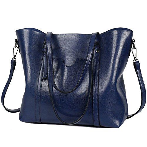 Satchel Schultertasche Handtasche (Frauen Wasserdichte Damen Umhängetasche Henkeltaschen Tasche Schultertasche Shopper Satchel Handtaschen Tote Shoulder Bag)