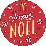 Avery - Rouleau de 50 Stickers Noël traditionnel