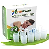 P & J Health – Anti Snoring Solution, Snore Stopper, advanced Nose Vents To Ease Breathing and Snoring