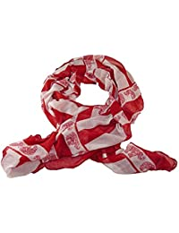 Long Scarf Elephant Red White