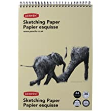 Derwent - Cuaderno de bocetos (A4, vertical), 1 unidad