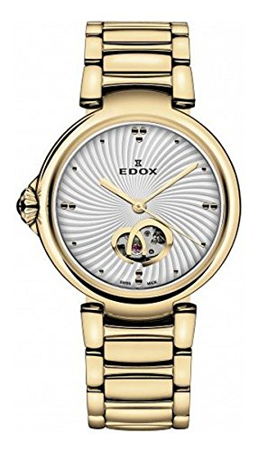 Edox Women's La Passion 33mm Steel Bracelet Automatic Watch 85025 37RM AIR