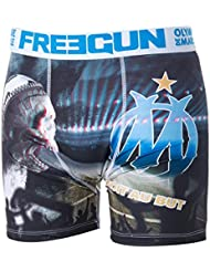 Boxer OM - Collection officielle OLYMPIQUE DE MARSEILLE - Taille adulte homme