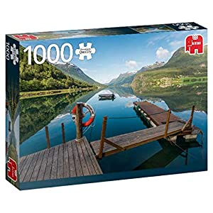 Premium Collection Styrn, Norway 1000 pcs Puzzle - Rompecabezas (Norway 1000 pcs, Puzzle Rompecabezas, Ciudad, Niños y Adultos, Niño/niña, 12 año(s), Interior)