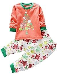 KINDOYO Lindo Animal Impresión Pijamas Set Para Unisexo Niño Minions, ...