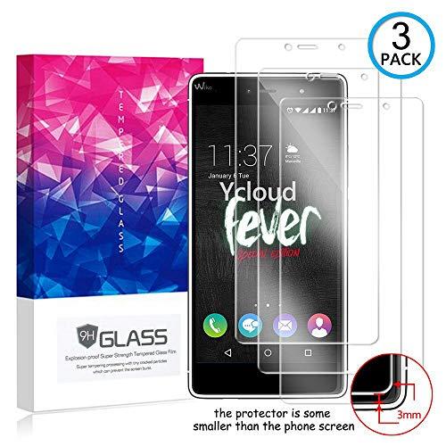 Ycloud [3 Pack] Bildschirmschutzfolie für Wiko Fever Special Edition, Staubdichter, kratzfester Bildschirmschutz für Wiko Fever Special Edition