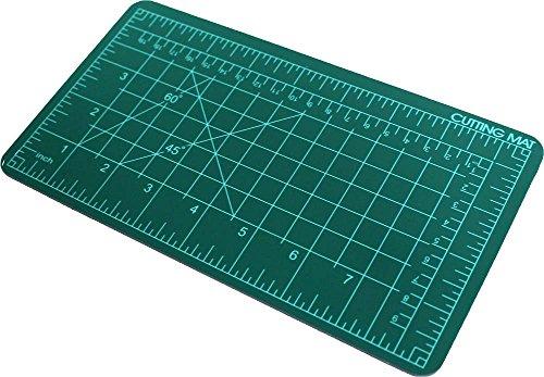 Toolusa 10,2 x 20,3 cm Tapis de découpe Vert de réparation automatique avec Pre-marked quadrillage pour une coupe précise : Cr-91509-z02 : Tapis de (lot de 2)