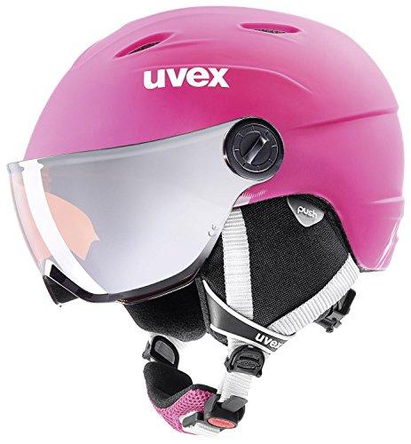 Uvex Kinder Junior Visor Pro Skihelm 4