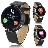 Best Indigi iPhone reloj - Indigi® Bluetooth Reloj inteligente caso de metal para Review