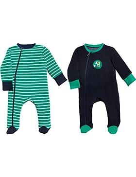 Baby Butt Schlafanzug 2er-Pack Frottee