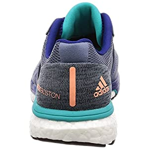 adidas Adizero Boston 7 m, Zapatillas de Running para Hombre, Gris (Raw Steel S18/Mystery Ink F17/Hi-Res Aqua F18), 42 2/3 EU
