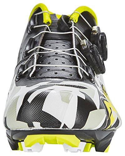 Northwave Blaze Plus MTB Fahrrad Schuhe schwarz/grau/gelb 2017 camo/black