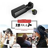 Arealer BlackCube Bluetooth 4.1 Kopfhörer In-Ohr Sport Headset mit Rich Bass Musik Kopfhörer Hands free w / Mic 390 mAh Notstrom Bank für Gym Übung Reisen -