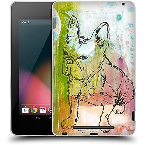 Ufficiale Wyanne Attitudine Animali Cover Morbida In Gel Per Asus Google Nexus 7