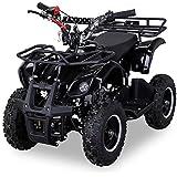 NEU Kinder Miniquad TORINO 49 CC MOTOR 2 Takt ATV Pocket Quad Kinderquad Kinderfahrzeug schwarz